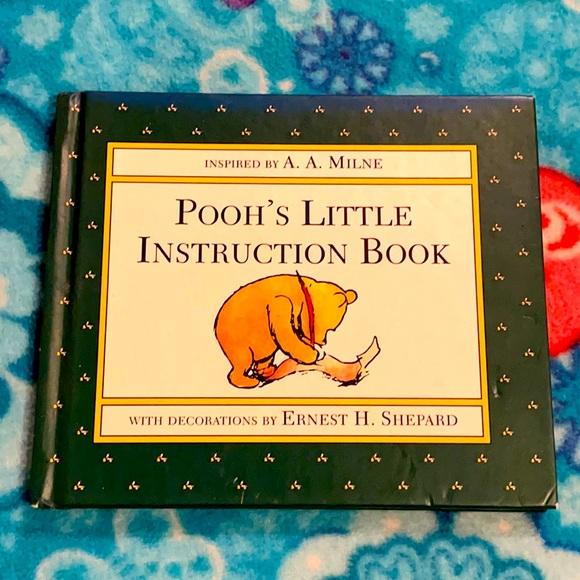 2/$20 // Vtg Pooh's Little Instruction Book